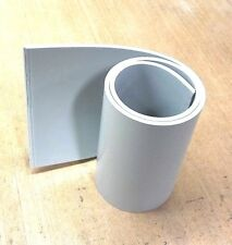 "Silicone Rubber Sheet 1/4'' Thk x 6'' x 12"" Strip US Mil Spec 60D Gray"
