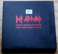 DEF LEPPARD LTD ED LET'S GET ROCKED ADRENALIZE 4 CD SINGLES COLLECTORS BOX SET