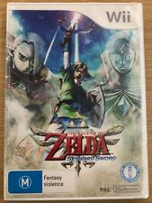 THE LEGEND OF ZELDA SKYWARD SWORD - WII UK GAME NEW SEALED *FREE UK POST*
