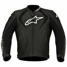10% OFF Alpinestars JAWS Black Motorbike Leather Sports Jacket