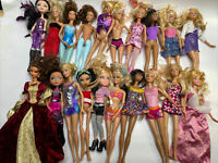 Lot Of 20 Mixed Doll Lot - Barbie Bratz & Others - See Pictures