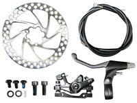 Complete 26 Inch REAR Wheel Disc Brake Assembly for E-bikes, Motor Bikes, Bikes