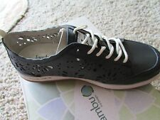 NEW JAMBU BLOOM LEATHER CUTOUT SHOES WOMENS 6 FLATS SNEAKER OXFORDS FREE SHIP
