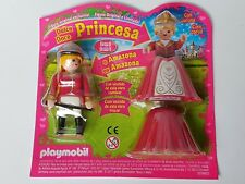 Playmobil Kit Amazon et Princesse avec Accessoires, Interchangeable, Chevaux