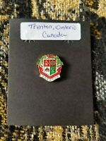 Souvenir Pin - Trenton Ontario Canada - Coat of Arms