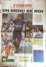 L'Equipe Journal 21/10/1997; C3; Lyon-Inter de Milan/ Strasbourg-Liverpool/ Metz