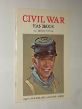 Civil War Handbook By William H. Price. Includes Information Letter From Museum.