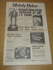 MELODY MAKER 1955 APRIL 2 EMI ERIC DELANEY EDDIE FISHER DEBBIE REYNOLDS +