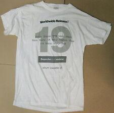 DEPECHE MODE Violator MARCH 1990 UK Promo Only T-SHIRT Mute GORE Gahan MINT! New