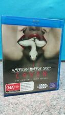 AMERICAN HORROR STORY: COVEN - THE COMPLETE THIRD SEASON BLU-RAY - FREE POST