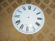 For American Clocks- Seth Thomas (Card) Paper Clock Dial-124mm M/T-WHITE-Spares
