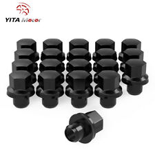 YITAMOTOR 20 Black | 14x1.5 | Mag Lug Nuts for Land Rover Range Rover Discovery