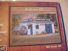 Walthers Lasercut Ho Scale Midtown Oil craftsman kit New
