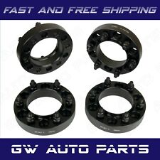 """4 PC 1.25"""" HUB CENTRIC WHEEL SPACERS 6X5.5 or 6x139.7 CB 106mm 12X1.5 Fit TOYOTA"""