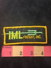 Vtg (? Utah ?) IML FREIGHT INC. Trucker Patch - Trucking / Truck 86NG