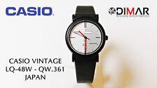 VINTAGE CASIO  LQ-48W QW.361 JAPAN, Ø.  DE CAJA 27mm,  RETRO AÑO 1988
