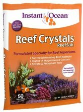 Reef Aquariums Crystal Sea Salt Marine Mix Coral Fish Saltwater 50-Gallon new