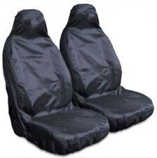 VAUXHALL VIVA 2015 ON - Heavy Duty Waterproof Front Seat Covers Protectors Black