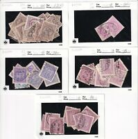 PORTUGAL 9 SALES CARD COLLECTION LOT $354 SCV