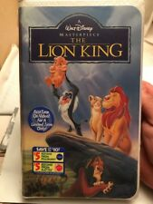 Disney•Masterpiece•The Lion King (VHS, 1995) Brand New!•Factory Sealed•Unwatched