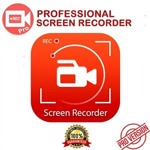 Pro Screen Recorder | Screen Capture | Lifetime Activation | Quick Delivery