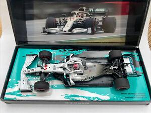 MERCEDES AMG F1 W10 EQ POWER+ Hamilton German GP 2019 1:18 MINICHAMPS 191144 CAM