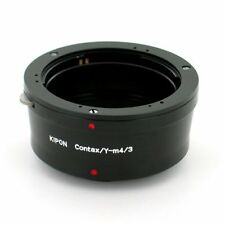 Kipon Contax/Yashica C/Y Mount Lens to Micro 4/3 Camera Body Adapter, US Seller!