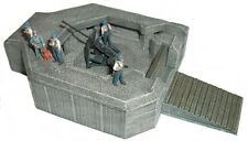 Artmaster 80.364 Bunker für 3,7 cm Flak H0 1:87 Bausatz unbemalt Keramik
