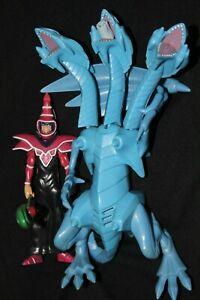 kazuki takahashi yugioh ultimate blue eyes dragon action figure drk magician lot