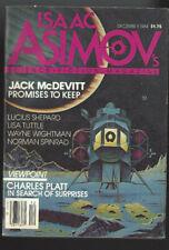 Isaac Asimov's Science Fiction Magazine December 1984