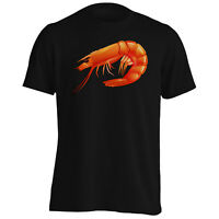 Shrimp Ocean Sea Food  Men's T-Shirt/Tank Top m776m