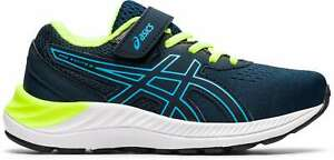 Asics Boy's Pre Excite 8 PS [ Blue ] Running Shoes - 1014A197-401
