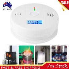 CO Carbon Monoxide Poisoning Gas Sensor Alarm Detector Smoke Tester Warning Safe