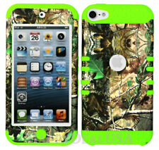 For Apple iPod Touch iTouch 5   6 - KoolKase Hybrid Cover Case Camo Mossy 73