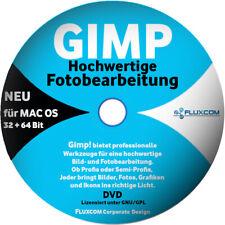 GIMP 2021 - 2.10.22 MAC OS CD/DVD, BILD FOTO BEARBEITUNG GRAFIK EDITOR