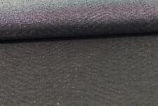 (EUR 12,90/m) Polyesterstoff elastisch Schwarz Glitzer 0,50mx1,45m (Art 1142)