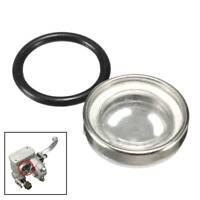 18mm Brake Master Cylinder Sight Glass Motorcycle Bike Gasket Restoration Part