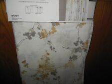 DKNY Wall Flower Window Curtains Panels Drapes 50x84