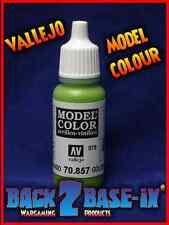 Vallejo Model Color Acrylic Paint 17ml Bottle Golden Olive 70857