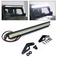 36LED Light Lamp Metal Roof Bar Kit White For 1/10 Jeep Wrangler RC Car Body New