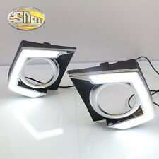 LED Daytime Running Light DRL Fog lamp for Mitsubishi Triton L200 2015-2016