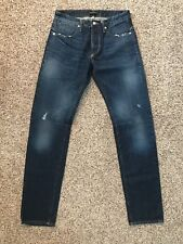 Tackma Selvedge Skinny Slim Jeans Men's Size 30 X 34