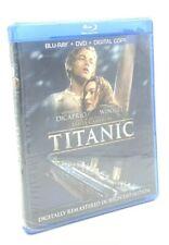 Titanic (Blu-ray+DVD+Digital Copy, 2012; 4-Disc Set) NEW