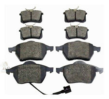 VW GOLF MK4 2.8 V6 4MOTION 1999-2004  FRONT AND REAR BRAKE DISC PADS NEW SET