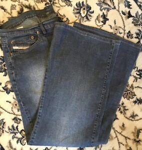 Diesel Algodao Jeans ~ 34 Waist x 30 Leg ~ 34x30
