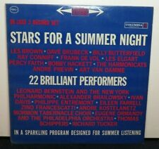 STARS FOR A SUMMER NIGHT DAVE BRUBECK LES BROWN (VG+) PMS-1 LP VINYL RECORD