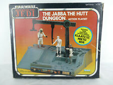 STAR WARS VINTAGE THE JABBA THE HUTT DUNGEON ACTION PLAY SET 1983 RED BOX ONLY