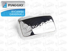COPERCHIO PORTAPACCHI SELLA CROMATO PER VESPA GTS GTV LX LXV ORIGINALE PIAGGIO