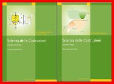 Baratta Scienza delle Costruzioni 2 voll meccanica dei solidi teoria della trave