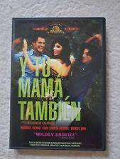 Y Tu Mama Tambien Dvd 2002 R-Rated Version Alfonso Cuaron